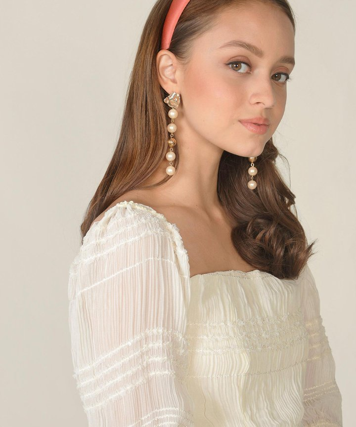 Vios Pearl Drop Earrings