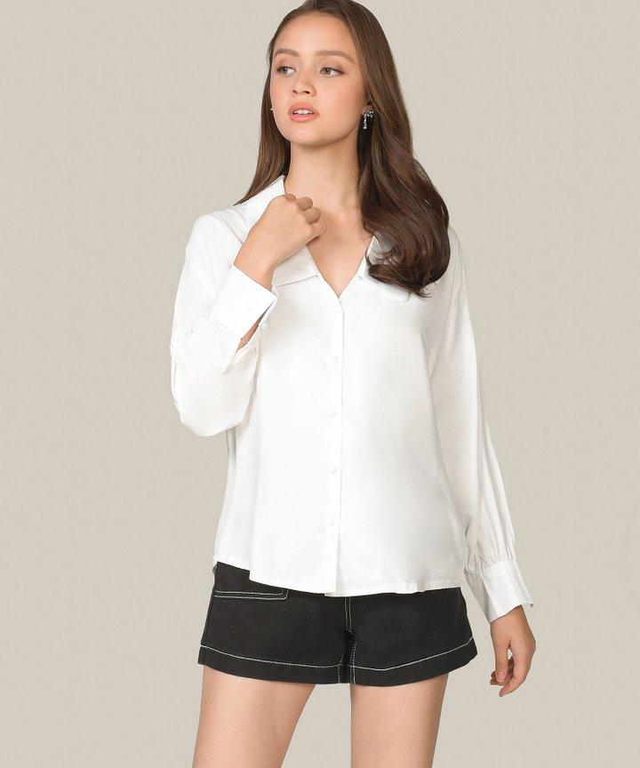 Astrid Oversized Shirt - White