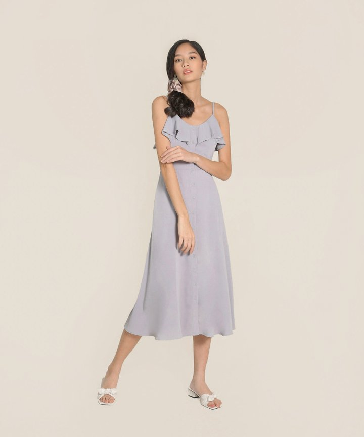Dion Ruffle Maxi Dress