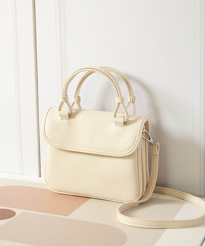 Famke Satchel - Off-White