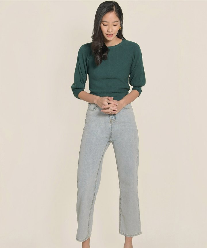 Isleworth Knit Top - Hunter Green (Backorder)