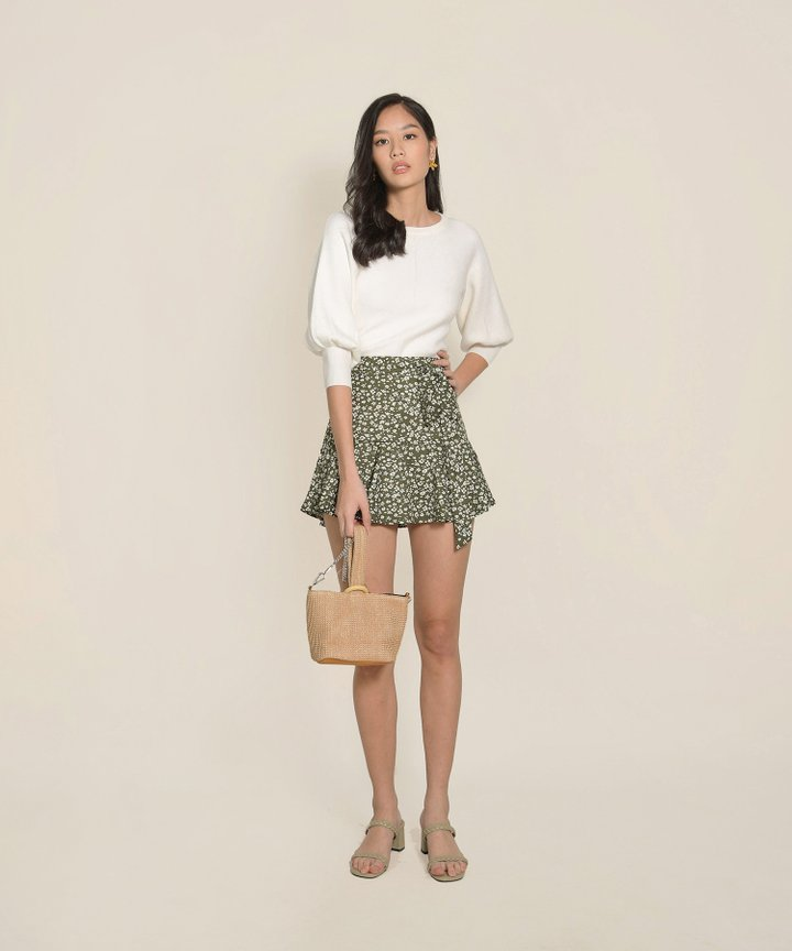 Isleworth Knit Top - White (Backorder)