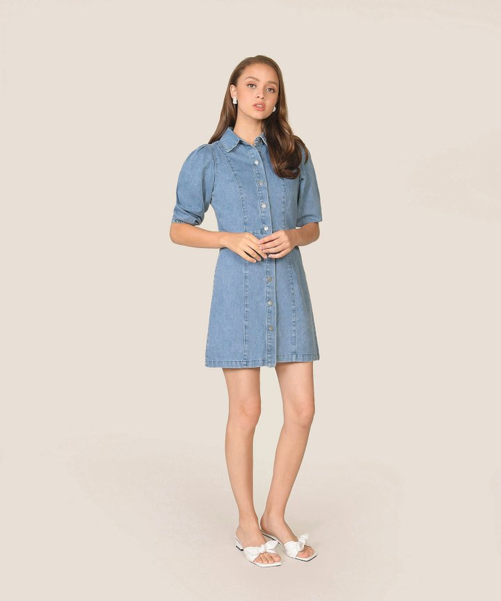 Raissa Denim Shirtdress