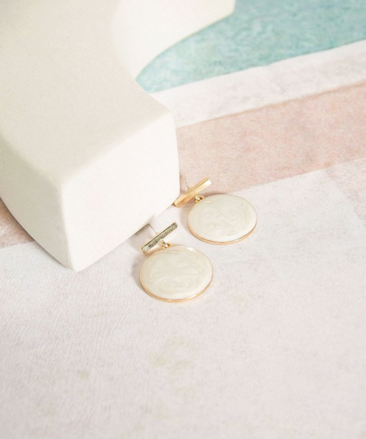 Whistler Circle Earrings