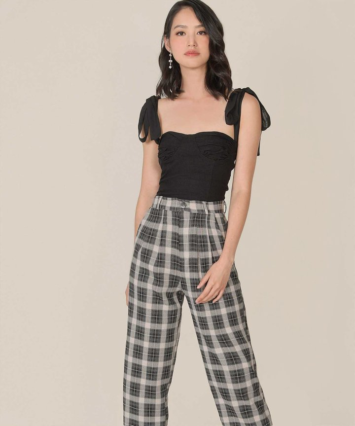 Solange Plaid Pants