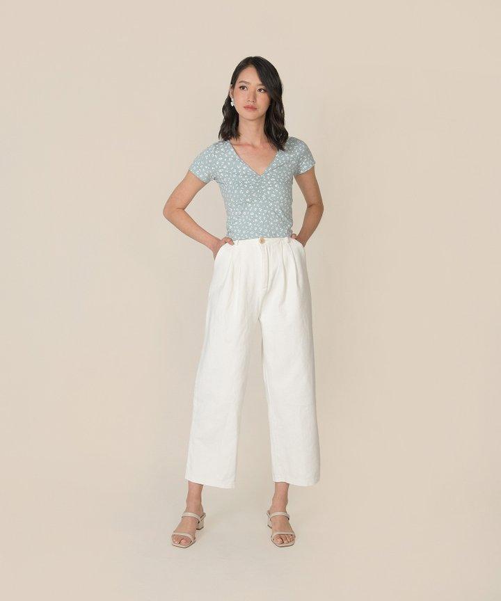 Weekender Oversized Jeans - White