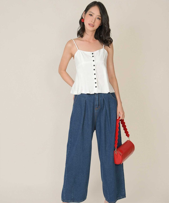Hestia Button Down Camisole