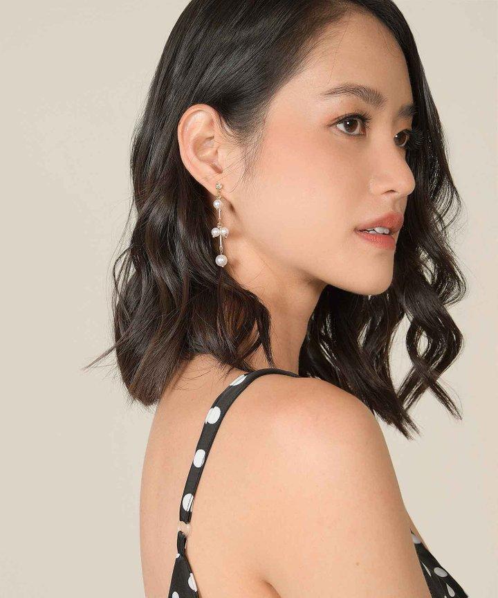 Sioux Pearl Drop Earrings