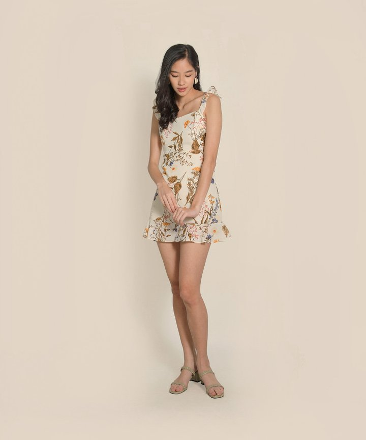 Soufflé Floral Ruffle Dress (Backorder)