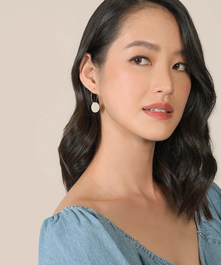 Delice Mini Disc Earrings