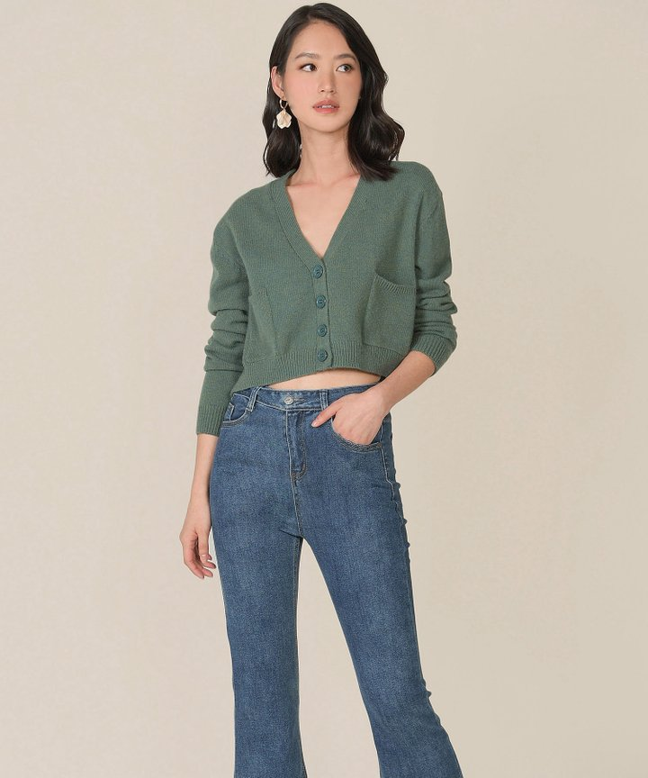 Lilo Knit Cropped Cardigan