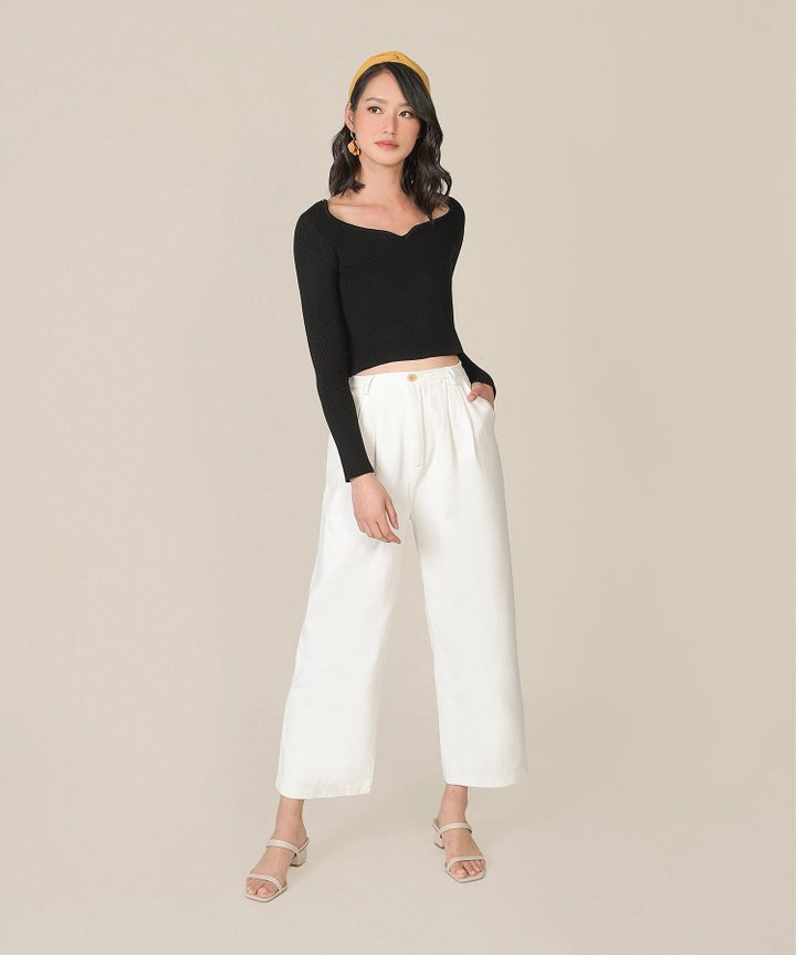 Weekender Oversized Jeans - White