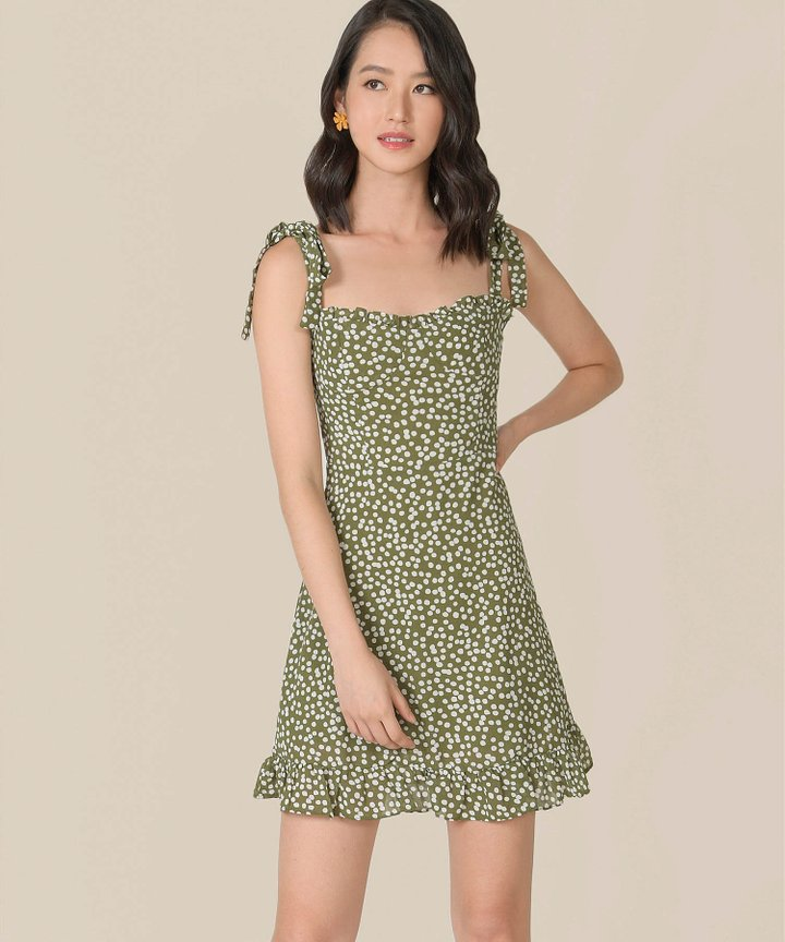 Thyme Printed Mini Dress (Backorder)