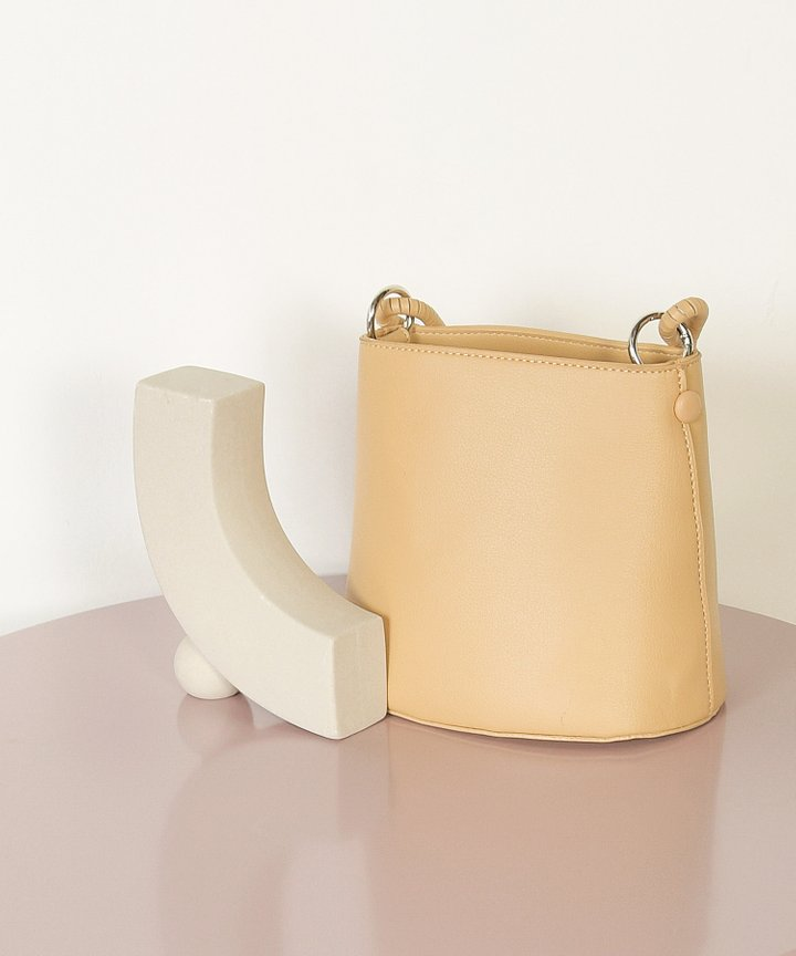 Viola Mini Bucket Bag - Sand