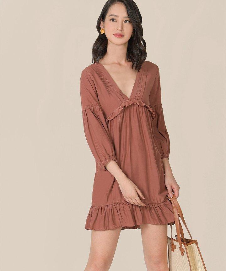Visalia Ruffle Dress