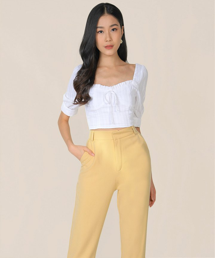 Elin Pants - Mellow Yellow