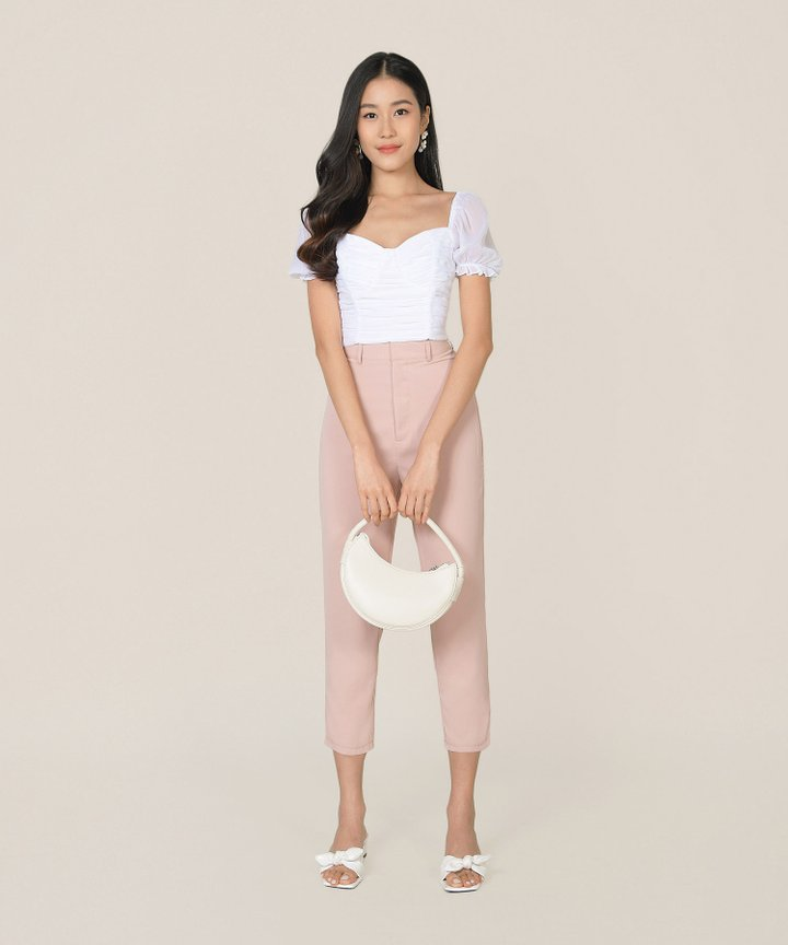 Prescott Tailored Pants - Blush