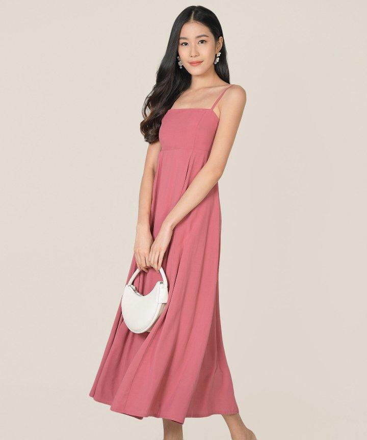 Tamsin Babydoll Maxi Dress - Bandung