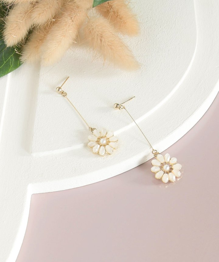Val Verde Floral Drop Earrings