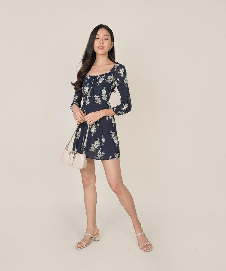Avarice Floral Mini Dress