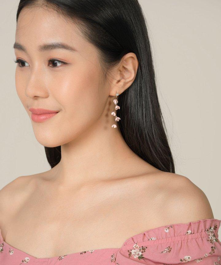 Isles Floral Drop Earrings