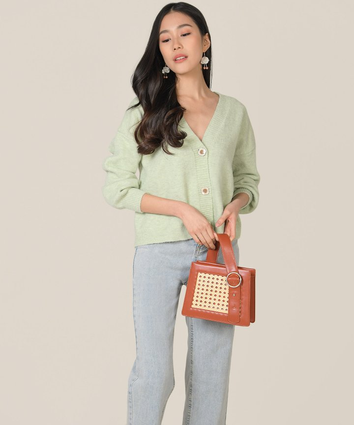 Omnia Cardigan - Green Tea