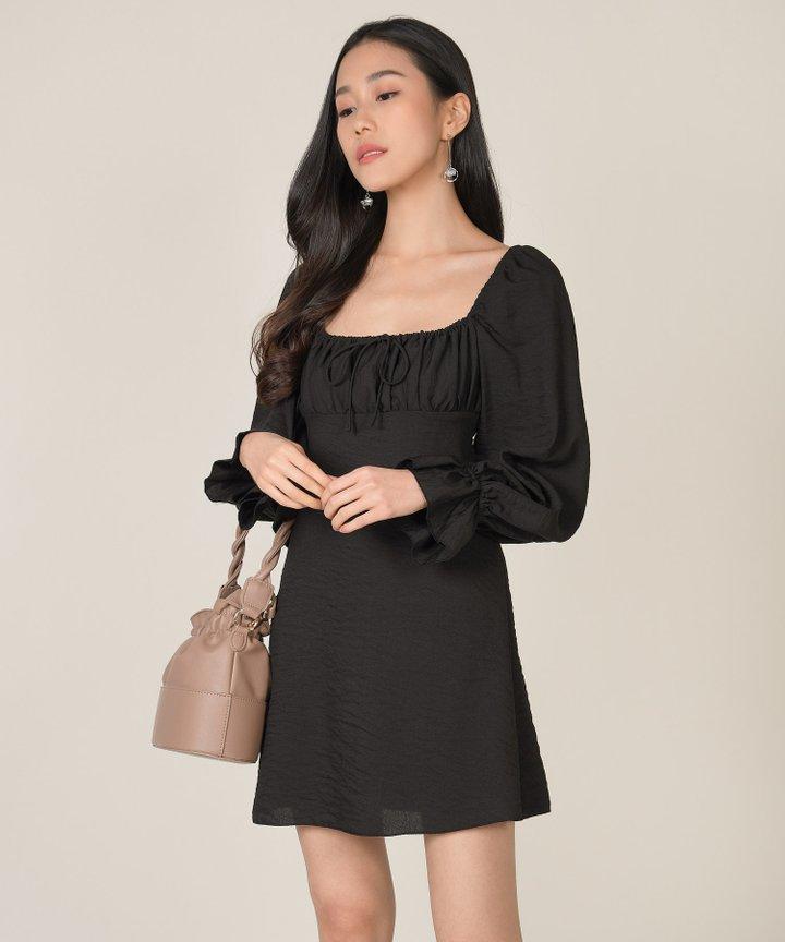 Camellia Ruched Dress (Backorder)