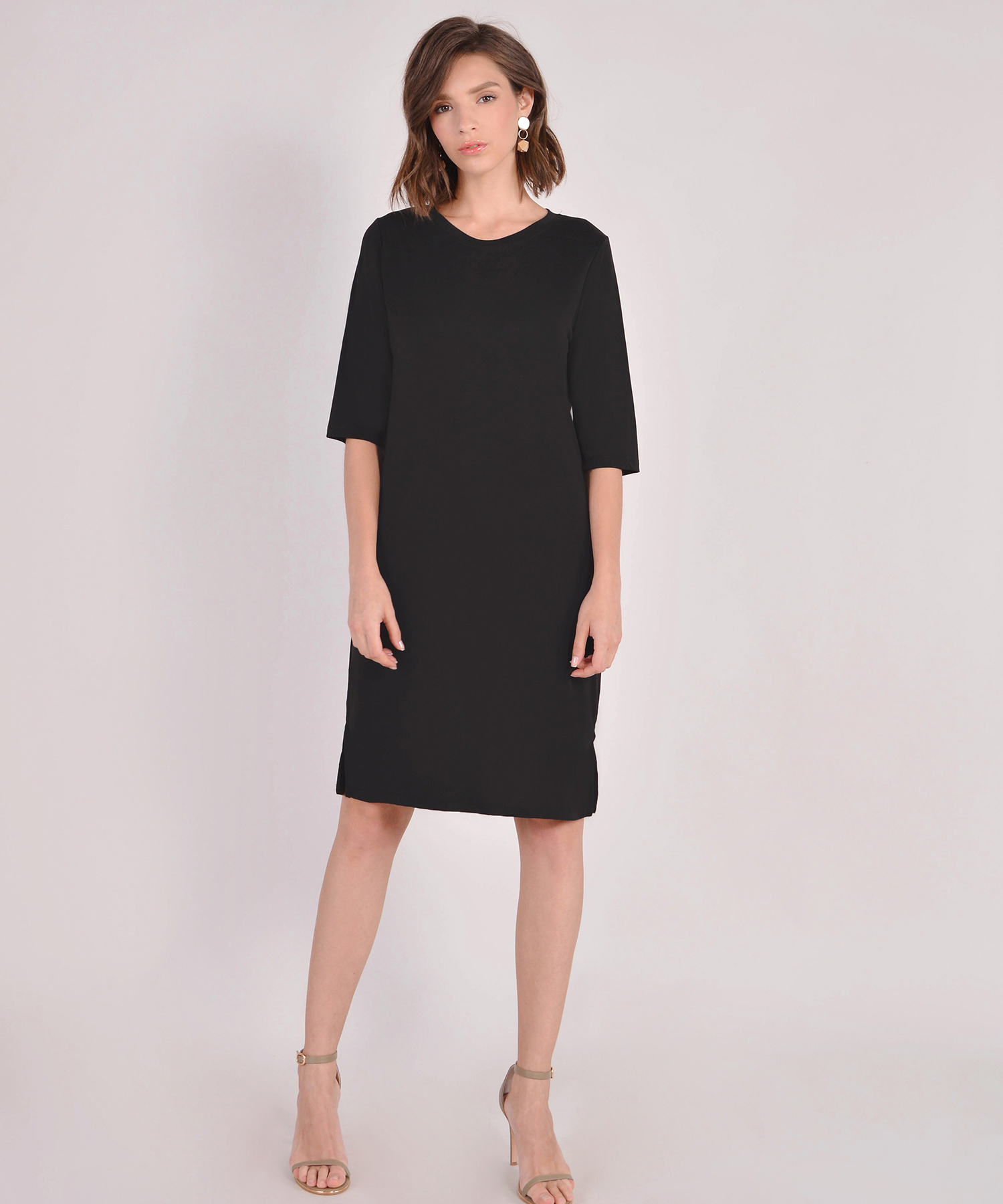 92280fd8bb21 Riley Oversized T-Shirt Dress - Black